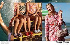 Miu Miu Spring Summer 2017 campaign by Alasdair McLellan Models  Elle  Fanning d17338b29b994