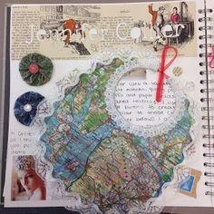 A Visual Story: Jennifer Collier by Olivia Bailey Textiles Sketchbook, Sketchbook Pages, Sketchbook Ideas, Sketchbook Layout, Skull Illustration, Art Illustrations, Jennifer Collier, Character Art, Character Design