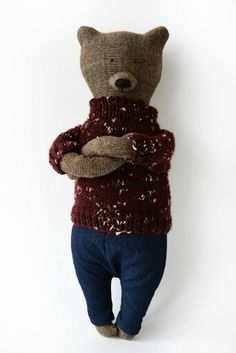 Eyl  the bear from Philomena Kloss etsy.com/shop/philomenakloss