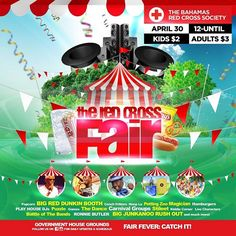 There will be a Junkanoo Rush Out at the Red Cross Fair - This Saturday!