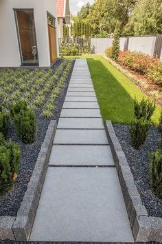 Sidewalk, Backyard Designs, Landscape, Patio Ideas, Gardens, Sidewalks, Drive Way, Projects, Lawn And Garden