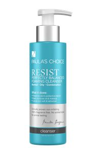 Resist Perfectly Balanced Cleanser #paulaschoice #fragrancefreeproducts #crueltyfreeproducts