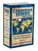 Christian Heroes: Then & Now (Books 11-15).  $30 Missionary Biographies of:  # David Livingstone: Africa's Trailblazer  # Betty Greene: Wings to Serve  # Adoniram Judson: Bound for Burma  # Cameron Townsend: Good News in Every Language  #  Jonathan Goforth: An Open Door in China