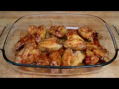 Alitas de pollo al horno. Receta muy fácil, rápida y económica - YouTube Chicken Wings, Meat, Youtube, Food, Videos, Home, Wing Recipes, Recipes With Chicken, Cooking Recipes
