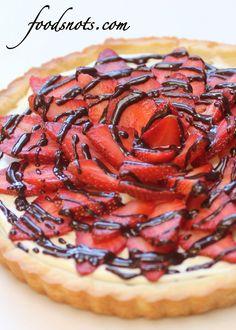 Strawberry Cream Cheese Tart « Recipe Snobs