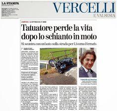 QUI - SALUGGIA: CLAUDIO MOMO TATTOO: IL POPOLO DI FACE LO RICORDA ...