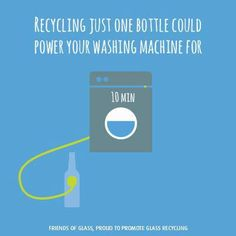 Good reminder to #reduce #reuse #recycle