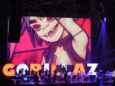 Gorillaz Soundsystem @ Festival Creamfields Buenos Aires 2006