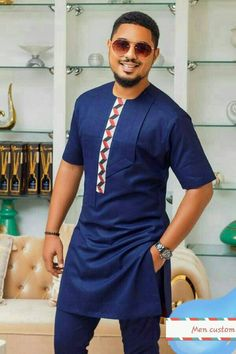 African men' s clothing, African Dashiki, Dashiki for men, African groom suit, African attire African Shirts For Men, African Dresses Men, African Attire For Men, African Clothing For Men, African Wear, African Style, African Clothes, Indian Style, African Dance
