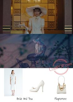 'Hotel Del Luna' Episode 6 Fashion: IU - Look 3 - CodiPOP Hotel Del Luna Fashion - IU - Ep After a slew of colorful outfits, IU pulls up with an all-white ensemble in one of the scenes in Hotel Del Luna. Luna Fashion, Kpop Fashion, Star Fashion, Korea Spring Fashion, South Korea Fashion, Cute Asian Fashion, Korean Fashion, Korean Drama Stars, Korean Entertainment