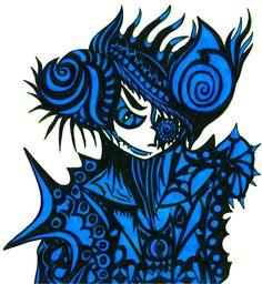 Demon Blue Version by VisualKeiBunny on DeviantArt