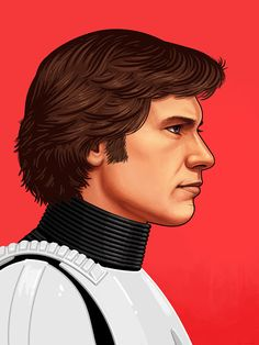 'Han Solo' by Mike Mitchell