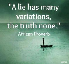 Stop Lying and Tell the Truth Already! Click here for the article: dinablas.com/...