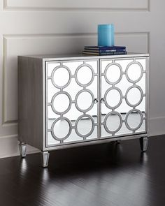 Shop Upton Mirrored Cabinet at Horchow, where you'll find new lower shipping on hundreds of home furnishings and gifts. Shelf Furniture, Glass Furniture, Mirrored Furniture, Accent Furniture, Furniture Making, Furniture Design, Aqua, Living Room Cabinets, Mirror With Shelf