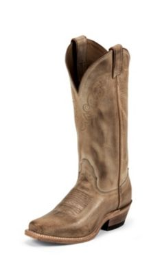 Ladies TEMPLE TAN COW #LD4552 Nocona Boots, Rodeo, Cowboy Boots, Footwear, Lady, Temple, Shoes, Fashion, Moda