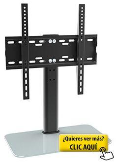 ricoo estante tv led pie de vidrio soporte fs soporte televisor