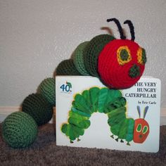 Amigurumi the Very Hungry Caterpillar
