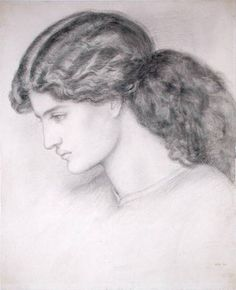 Head of a woman (1861)