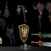 D3 RoS Classes by Aaron Gaines on ArtStation.