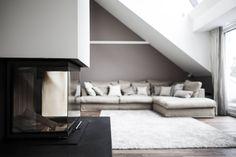Dachgeschosswohnung : Klassische Wohnzimmer von Cordier Innenarchitektur
