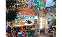 Design Festa Gallery Harajuku cafe