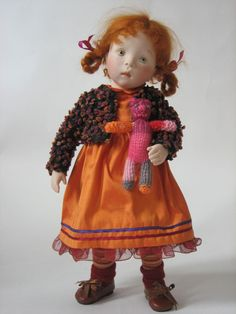 Sylvia Natterer KINDERGARTEN (Ger) collection doll_URSULA, 2007