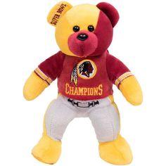 Washington Redskins Super Bowl XXVI Champions Thematic Bear