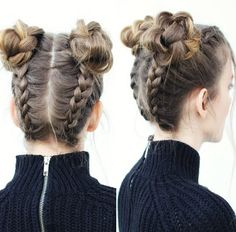 The upside down braid to bun hairstyle is seen everywhere these days. These hairstyles can be carried on formal events and casually. Here is the detail how to achieve the braid into bun hairstyle for 2017-2018.