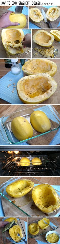 How to cook spaghetti squash (step-by-step instructions)