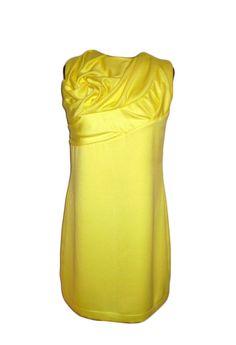 yellow dress tunic by FedRaDD on Etsy