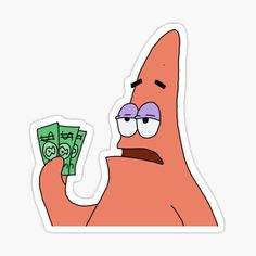 Patrick sticker, buy 4 and get off Preppy Stickers, Cute Laptop Stickers, Bubble Stickers, Meme Stickers, Cartoon Stickers, Cool Stickers, Printable Stickers, Notebook Stickers, Homemade Stickers