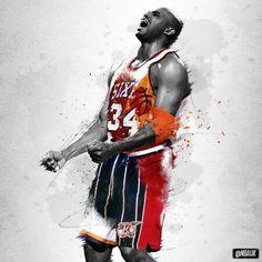 Charles Barkley birthday illustration. The_soul · NBA wallpaper