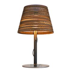 Graypants Cone Table Lamp Shades Are Gorgeous Made From Recycled Cardboard Find