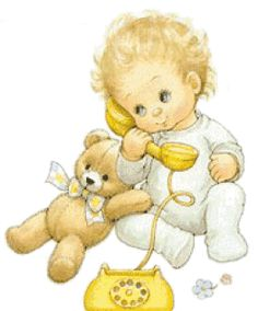 Baby with teddy Illustration by Ruth Morehead Baby Images, Cute Images, Cute Pictures, Clipart Baby, Sarah Kay, Deco Baby Shower, Greeting Card Companies, Creative Pictures, Digi Stamps