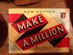 Make a Million by Parker Brothers; at Uncommon Objects, Austin