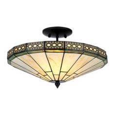 Tiffany Ceiling Lamps Product | Tiffany Style Ann Ceiling Light