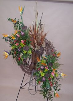 How to Make Casket Arrangement | We can make this larger with more flowers for $525. and up
