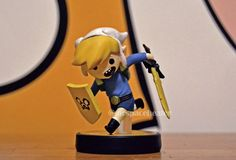 Finn and Jake custom Toon Link Amiibo by NintendorkCorner on Etsy