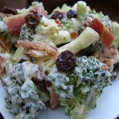 Alyson's Broccoli Salad Allrecipes.com