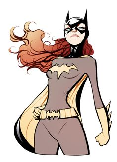 Batgirl. Barbara Gordon.