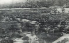 Gerhard Richter, Beerdigung (Funeral) 200 cm x 320 cm, Oil on canvas Gerhard Richter, Der Richter, European Paintings, Contemporary Paintings, Pierre Auguste Renoir, Edouard Manet, Action Painting, Black And White Painting, Mark Rothko