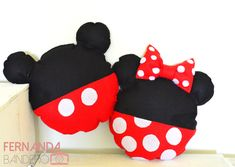 Almohadas Mickey e Minnie