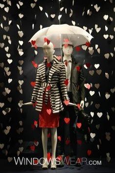 Debi Ward Kennedy   Design Blog: Valentine's Day Windows