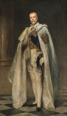 Right Honourable Arthur Oliver Villiers Russell (1869–1935), 2nd Baron Ampthill, GCSI, GCIE by Arthur Stockdale Cope