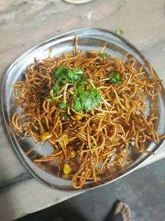 Chinese bhel Recipe by Nidhi Amit Jain Chinese Bhel, Bhel Recipe, Japchae, Great Recipes, Fries, Anniversary, Ethnic Recipes, Food, Essen