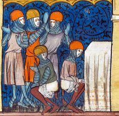 Chroniques de France ou de St Denis, France 1332-1350.