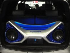 Alpine SUV. custom stereo install