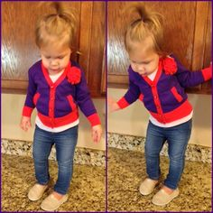 Toddler Fashion Blog, this is how my children will dress! Riann would look so cute in this! Totally her!