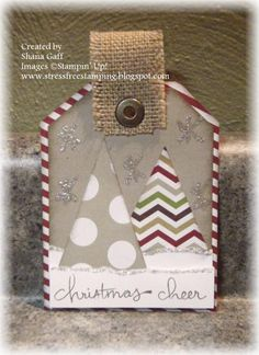 Stamp Set: Endless Wishes Cardstock: Crumb Cake, Whisper White Ink: Chocolate Chip, Crumb Cake Accessories: Season of Style DSP stack, Burlap Ribbon, Silver Dazzling Details, Jumbo Eyelet