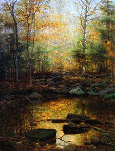 William Bliss Baker - Woodland Brook